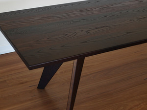 Cambia Ash Dining Table by Elliot Holdstock - Dining Table, Furniture, Interior Design