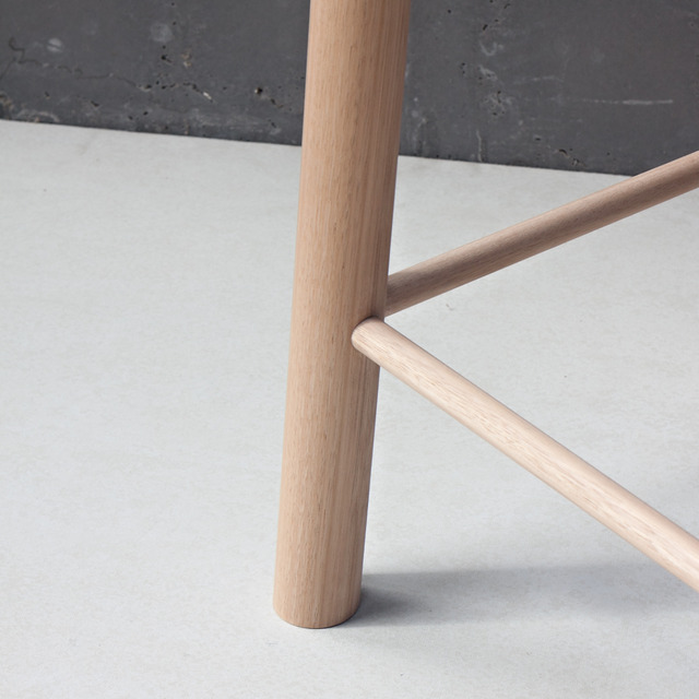 Crop Bar Stool by Relm Furniture - Oak, Barstool, Stool, Seat, Timber, Bespoke, Custom, Finely Crafted, Relm, Cool