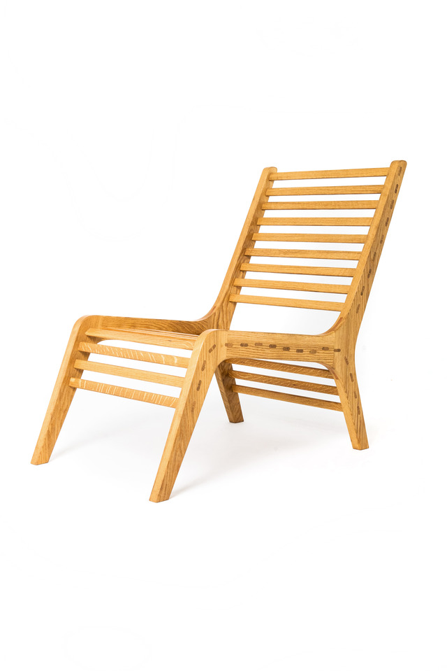 Lloyd Easy Chair by Elliot Holdstock - Woodwork, Fine Furniture, Furniture, Design