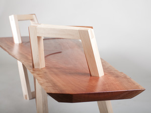 Slab Bench by Elliot Holdstock - Fine Furniture, Furniture, Woodwork, Design