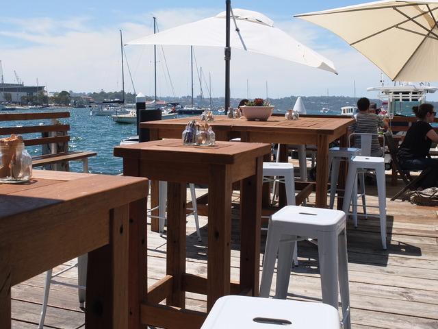 Outdoor tallowood tables by Telegraph Road - Outdoor, Tallowood, Australian Hardwood
