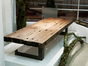 Cross arm coffee table by Telegraph Road - Recycled, Australian Hardwood