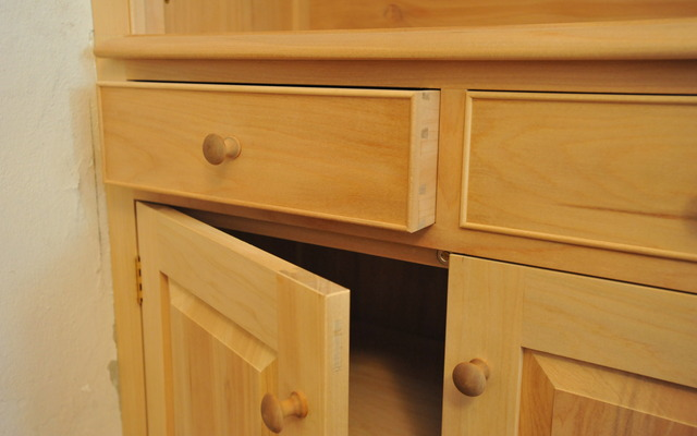 Cabinetry by Wayne Mavin & Co - Quality Timber, Traditional Methods, Natural Finishes, Fielded Panels, Hand-Cut Dovetails, Mortise And Tenon