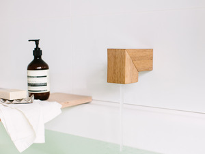 Isla bath spout by Oliver Maclatchy - Bath Spout, Bathroom, Reclaimed Timber, Bath, Spout, Outlet, Faucet
