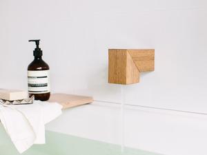 Isla bath spout by Oliver Maclatchy - Bath Spout, Bathroom, Reclaimed Timber, Bath, Spout, Outlet, Faucet