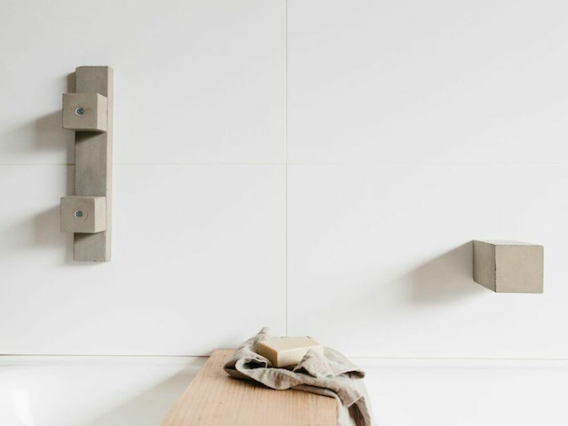 Bella concrete taps by Oliver Maclatchy - Tap, Concrete, Bath, Basin, Bathroom, Tap Ware