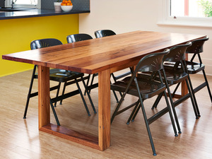 Box Frame Table by Auld Design - Table, Handmade, Dining Table, Dining, Messmate, Australian Hardwood