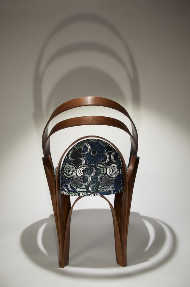 Chair l by Neil Turner - Chair, Jarrah, Curves, Bent Laminations, Organic