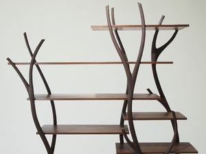 FreeStanding Display by Neil Turner - Shelving, Jarrah, Bookcase, Veneer, Display Shelving