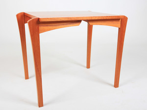 Pinstripe Side Table by Tim Noone - Side Table, Hall Table, Australian Red Cedar, New Zealand Beech