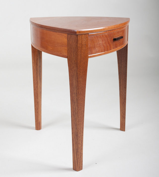 The Watershed Side Table by Tim Noone - Side Table, Australian Red Cedar, Silver Ash