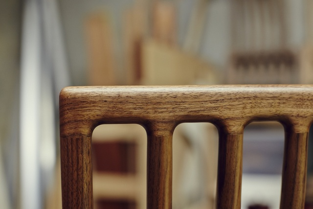 Ferrer Dining Chair by Tim Noone - Chair, Dining, American Walnut