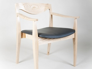 The Vianney Chair by Tim Noone - American Ash, Dining Chair, Office Chair