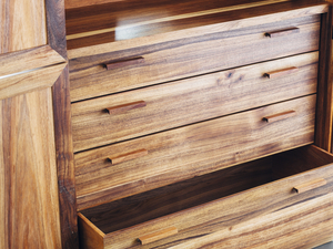 A French Pantry by Hugh Makin - Joinery, Handmade, Blackwood, Drawers, Bespoke