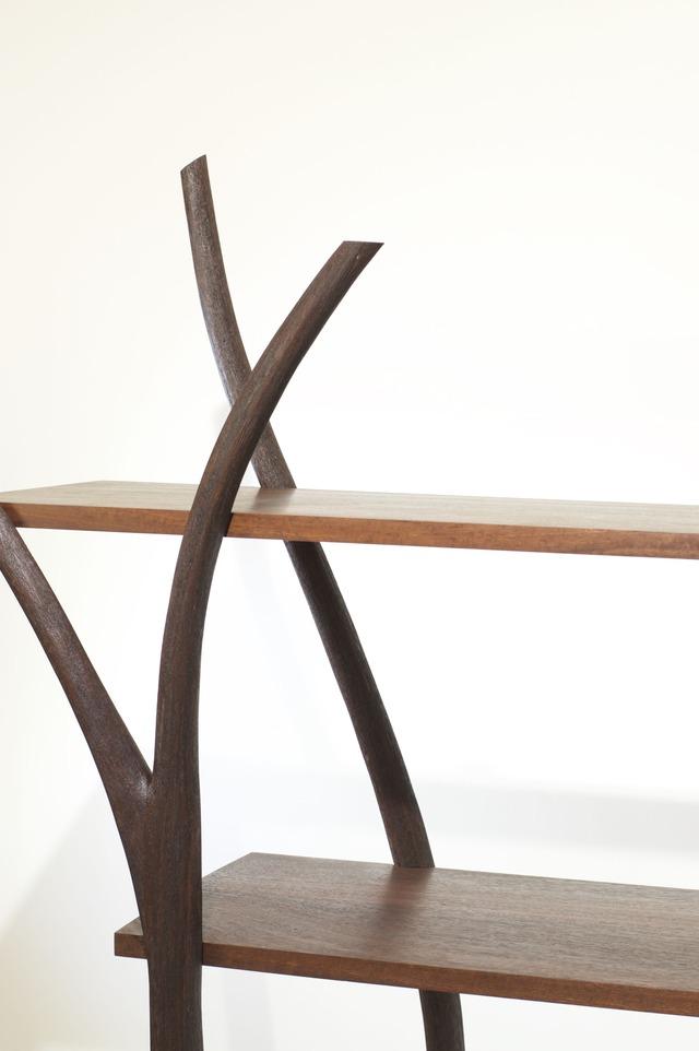 FreeStanding Display by Neil Turner - Shelving, Jarrah, Bookcase, Veneer, Display Shelving