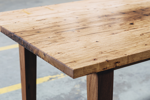 Robyn's Dining Table by Hugh Makin - Dining Table, Tables, Handmade, Australian Timber, Bespoke