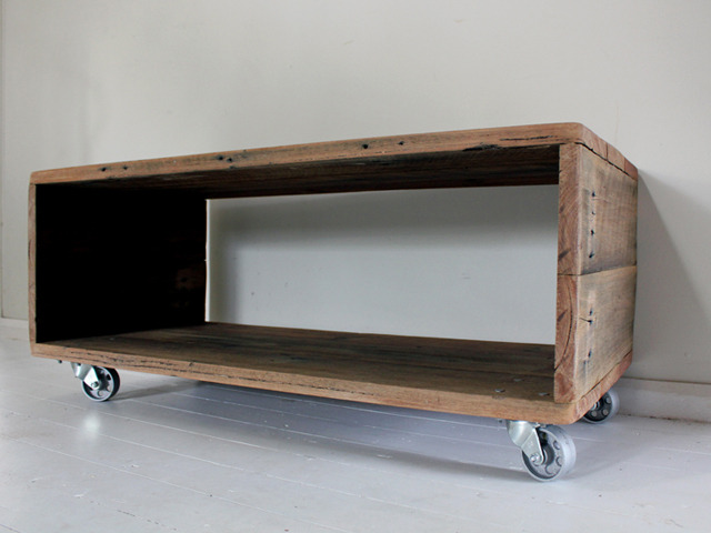 HIDEAWAY COFFEE TABLE by BEECH STREET Handkrafted