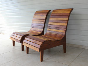 PARADISO CHAIRS by BEECH STREET - DECK, CHAIR, PARADISO, BEECHSTREET, RECLAIMED, BESPOKE, HANDMADE