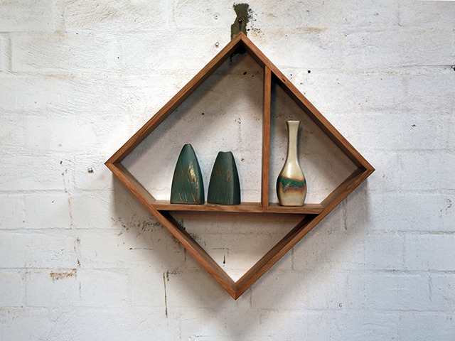 Ming Mongs by Chris Wann - Shadowbox, Recycled, Osmo Natural Oil