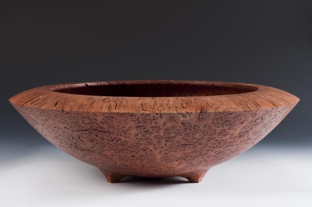 Large Jarrah Bowl by Neil Turner - Jarrah, Woodturning, Bowl