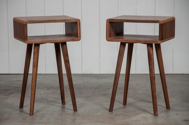 Bedside tables by Saltwood Designs - Bedside Table, Furniture, Table, Walnut, Oak