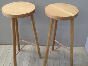 American oak barstool by Chris Colwell - Bar Stool, Stool, Seat