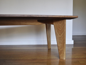 nine° table by Niall Little - American Oak, Walnut, Table, Modern