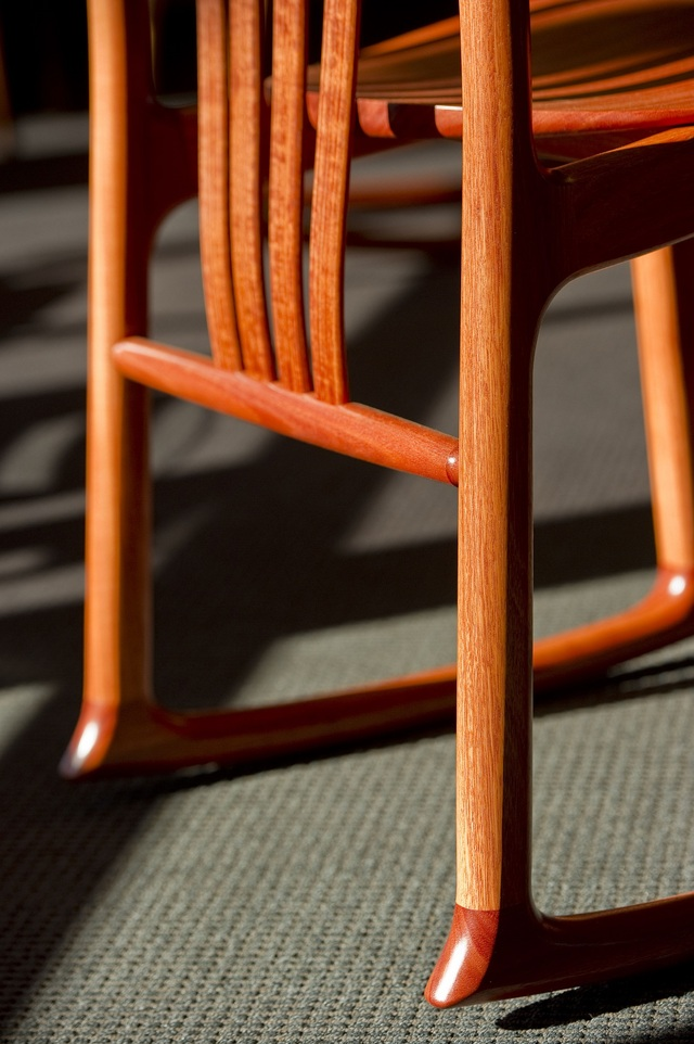 Cataract Ergonomic Rocker by Evan Dunstone - Cataract Ergonomic Rocker, Office Chair, Dining Chair, Timber Chair, Ergonomic Chair, Hand Crafted Chair, Comfortable Chair