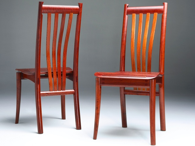 Clearwater Chair by Evan Dunstone - Clearwater Chair, Dining Chair, Wooden Chair, High Back Chair, Dunstone Design Chair