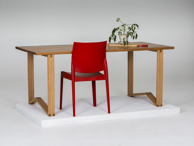 '1981' Table - Dining/Desk by GLENCROSS FURNITURE - Dining Table, Desk, Custom Made, Australian Timber, Recycled Timber, Natural Timber, Hardwood, Melbourne, Modern Design