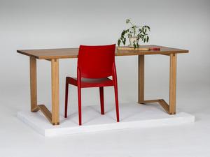 1981 Table: Dining/Desk by GLENCROSS FURNITURE - Dining Table, Desk, Custom Made, Australian Timber, Natural Timber, Hardwood, Melbourne, Modern Design, Table