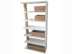 Regal Bookshelf  by RAW Sunshine Coast  - Blackbutt, Handcrafted, Bookshelf, Bookcase, Shelving