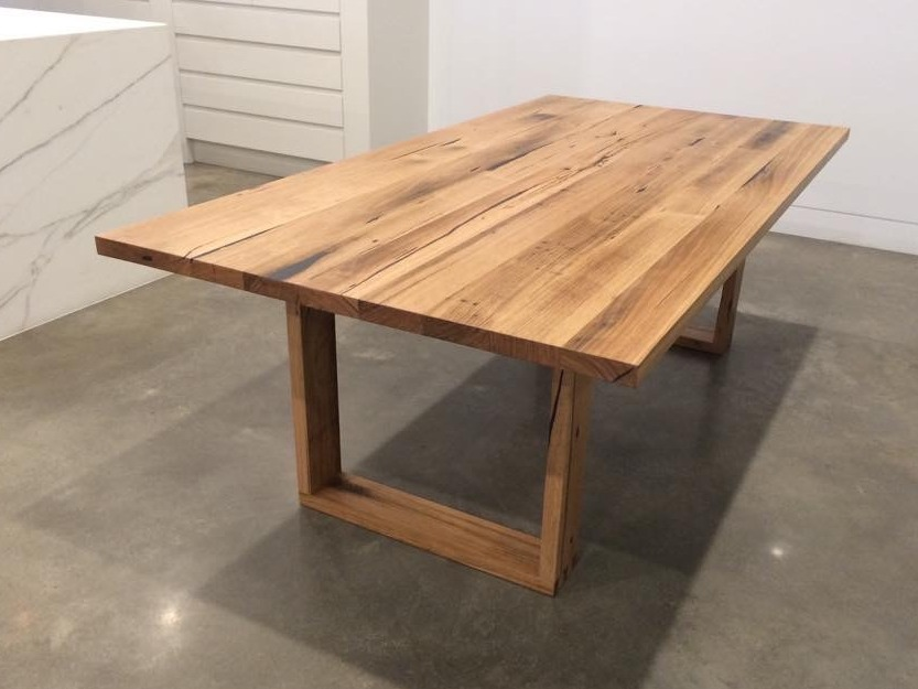Recycled messmate dining table by eco wood design for Why is wood sustainable