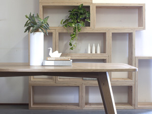 Yui Range by Raw Edge Furniture - American Oak, Dining Table, Dining, Oak, Cabinet, Braceboard, Oak Cabinet, Sideboard