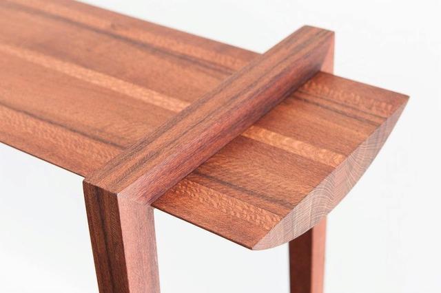 Beefwood Halltable by Michael Hoffman - Beefwood, Hall Table, Sleek, Minimalist