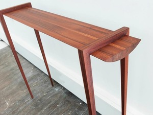 Beefwood Halltable by Michael Hoffman - Beefwood, Hall Table, Sleek, Minimalist