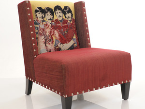 Beatles Chair by Upholstery Solutions - Beatles, Music, Furniture, Man Cave, Seat, Study, Chair