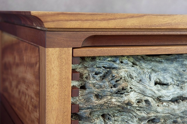 Kingswood Cabinet by Michael Hoffman - Weathered, Fine, Rosewood, Cabinet