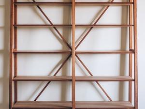 Book Case by Michael Hoffman - Blackwood, Mountain Ash, Book Case Shelves, Shelf, Fine