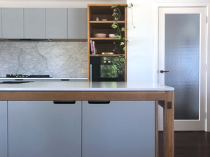 Custom Kitchens by Raw Edge Furniture - Kitchen, Wandoo, Solid Timber Kitchen, Plywood Kitchen, Storage, Plywood Shelving, Wooden Kitchen, Custom Built Kitchen