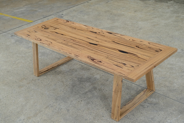 Eucalyptus Tucker Time by Zac Pearton - Dining Table, Messamte, Recycled