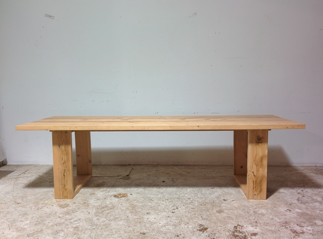 Recycled Oregon Dining table by Tim Denshire-Key - Dining, Recycled Timber, Apartment, Rustic, Modern, Oregon