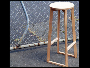 5th Degree stool by Guy Paramore - Timber, Stool, Seating