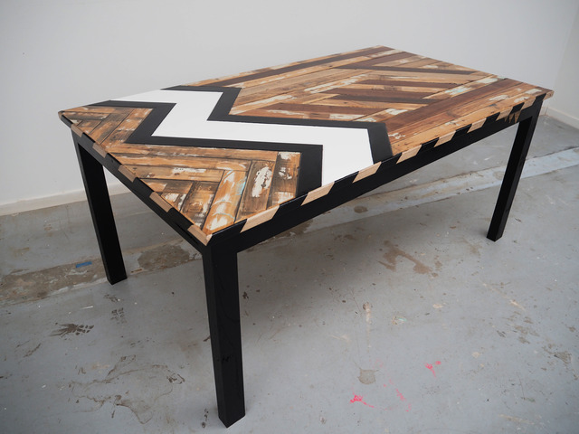 Ichabod Crane | Dining Table by Flitch & Rasp - Recycled Timber