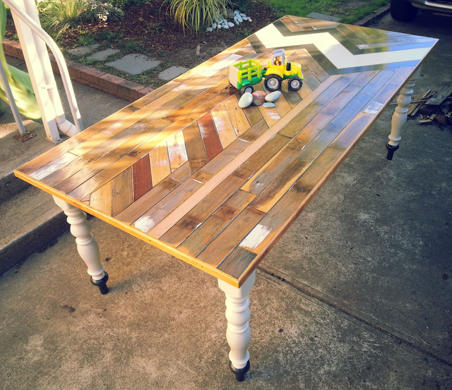 Communal Dining Table by Flitch & Rasp - Recycled Timber