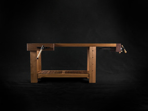 Dream Workbench by makimaki Furniture Works - Workbench, Bench, Woodwork, Brisbane, Makimaki, Vic Ash, Recycled, Reclaimed