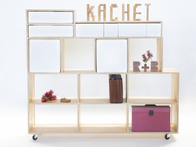 Monolith storage unit by Kachet - Cabinet, Storage, Shelving, Industrial