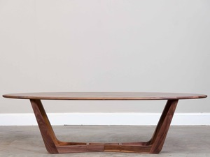 Walnut Coffee Table by Saltwood Designs - Coffee Table