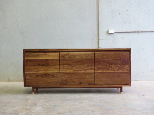 Dancing Shoes Side Cabinet by CHRISTOPHER BLANK - Side Cabinet, Credenza, Side Board, Storage Cabinet, American Walnut
