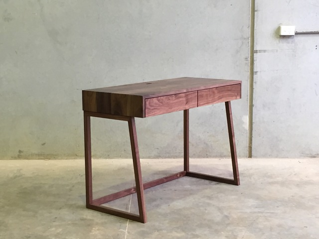 Mr Atkins Desk by CHRISTOPHER BLANK - Desk, American Walnut